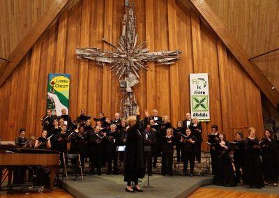"""Alleluia"" (Michael McGlynn), Affirmation of Hope:  All Things Irish.  Buffalo Master Chorale, Doreen Rao, cond.  Trinity United Methodist Church, Grand Island, May 2016."