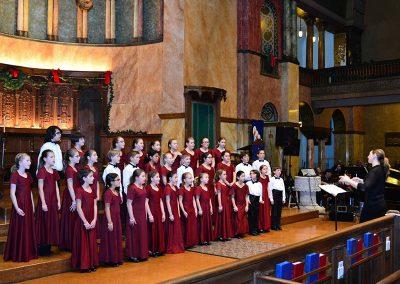 """""""Cantamos"""", Fiesta de Las Americas. Buffalo Niagara Youth Chorus, Heather Holden, cond. First Presbyterian Church, Buffalo, December 2015."""