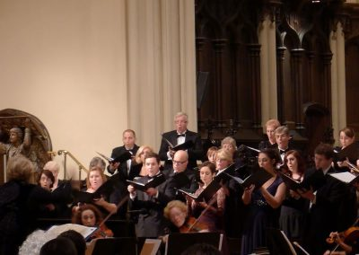 """Regina Coeli"" (W. Mozart), Mozart and The Sound of Music. Buffalo Master Chorale and guest artists, Doreen Rao, cond. Holy Trinity Lutheran Church, Buffalo, October 2014."