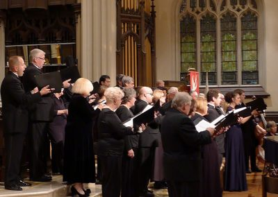 """Ave Verum"" (W. Mozart), Mozart and The Sound of Music.  Buffalo Master Chorale, Doreen Rao, cond.  Holy Trinity Lutheran Church, Buffalo, October 2014."