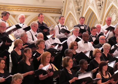 """Precious Lord"", A Symphony of Choirs. Buffalo Master Chorale, Harmonia Chamber Singers, and the choirs of St Louis RC Church and St Joseph Cathedral, Doreen Rao, cond. St. Joseph Cathedral, Buffalo, June 2013"