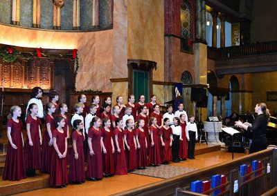 """Cantamos"", Fiesta de Las Americas. Buffalo Niagara Youth Chorus, Heather Holden, cond. First Presbyterian Church, Buffalo, December 2015."